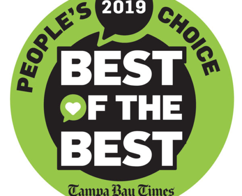 Tampa Bay Times: Best of the Best People's Choice Award 2019